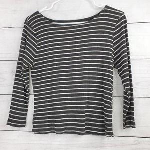 AEO Soft & Sexy Stripe Crop Top
